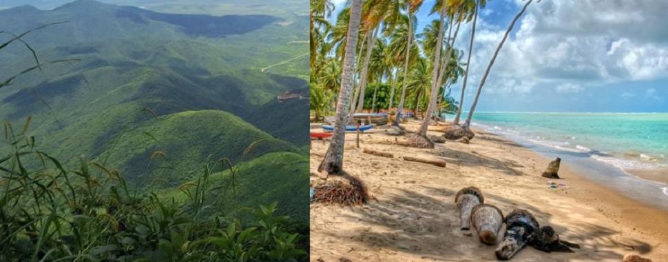 Qual é o Melhor Destino: Praia ou Montanha?